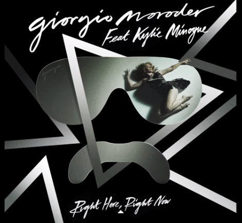 right here right now: Giorgio Moroder e Kylie Minogue