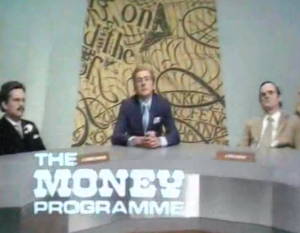 the money programme - monty python flying circus